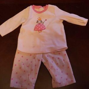 2 piece girl pajamas - Carters
